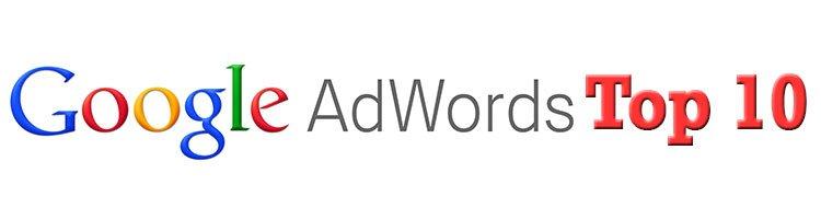 2014 metų trečio ketvirčio Google AdWords populiariausios skelbimų kategorijos